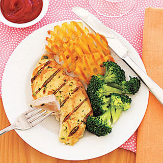 Grilled Tarragon-Mustard Chicken