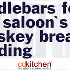 Handlebars Food And Saloon's Whiskey Bread Pudding