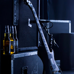 Rock'n'Roll by Björn Olsson - Artistic Objects Musical Instruments ( music, concert, beer, guitar, rock )