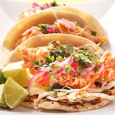 Crunchy Fried Fish Tacos