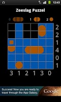 Screenshot of Battleship Puzzle