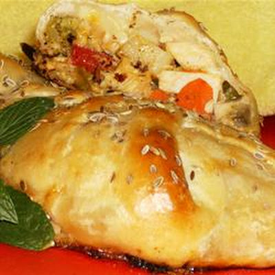 Chicken Crescent Braid
