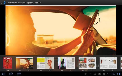 android market zinio reader magazine