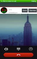 Screenshot of caller id&caller name-numbers