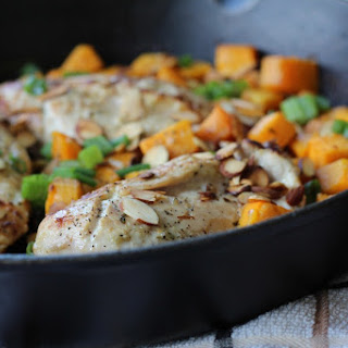 Ginger Cilantro Baked Chicken
