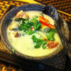 Thai Chicken and Coconut Soup (Cooking Light)