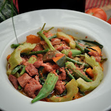 Pinakbet ( Philippine Vegetable Stew)