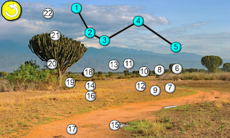 Screenshot of Connect the Dots Africa HD