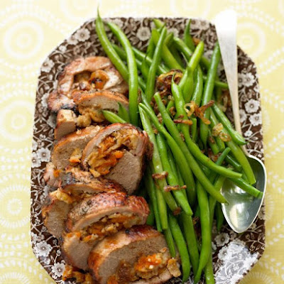 Pork Loin Stuffed with Figs and Apricots