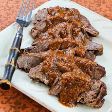 Pot Roast with Sweet and Sour Tomato Sauce