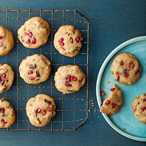 Pomegranate Chocolate Chunk Cookies