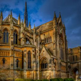 Arundel Cathedral by Oliver Kluwe - Buildings & Architecture Places of Worship ( arundel, uk, england, chruch, arundel cathedral, hdr, cathedral, east sussex, united kingdom )