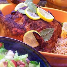 Roasted Curried Chicken with Couscous