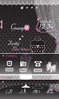 Screenshot of CUKI Theme Black AND Pink