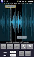 Screenshot of Audio Editor for Android
