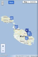 Screenshot of Malta Info