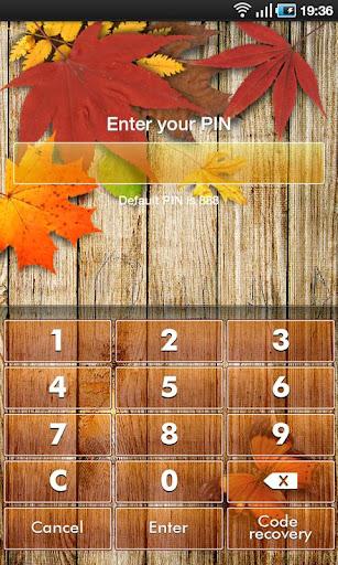 App Guard - Autumn Theme