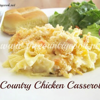 Country Chicken Noodle Casserole