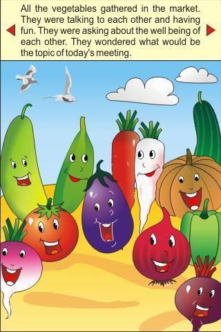 Mr. Vegetable Kids Story