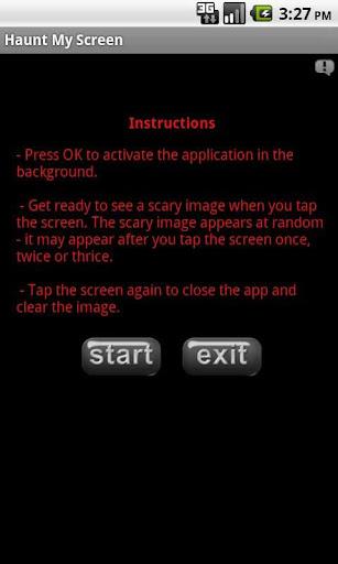 闹鬼屏幕|玩休閒App免費|玩APPs