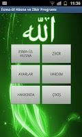 Screenshot of Esma-ul Husna ve Mobil Zikir