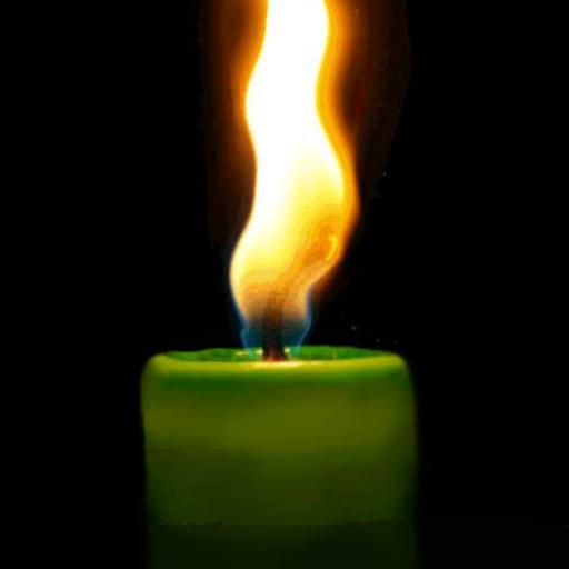 動畫虛擬的蠟燭 生活 App LOGO-硬是要APP
