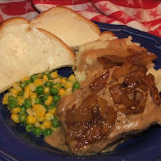 Yummy Round Steak With Rich Gravy
