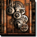 Steampunk Live Wallpaper Gears icon