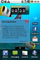 Screenshot of Daily Horoscope - Pisces