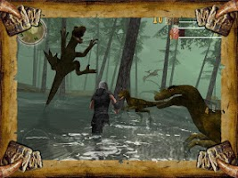 Screenshot of Dinosaur Assassin Pro