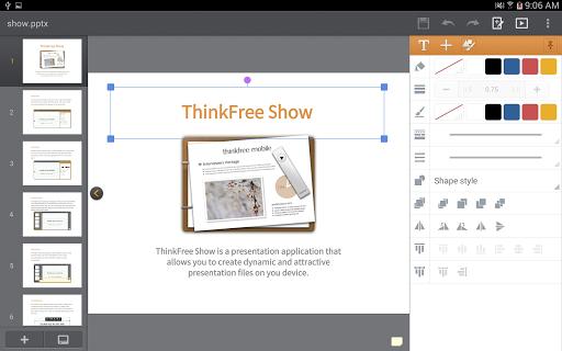 ThinkMobile Pro - screenshot