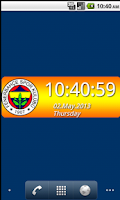 Screenshot of Fenerbahçe Digital Saat
