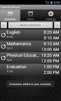 Screenshot of Time for School (free version)