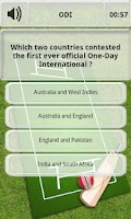 Screenshot of Cricket Quiz - Trivia
