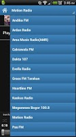 Screenshot of Indonesia Radio