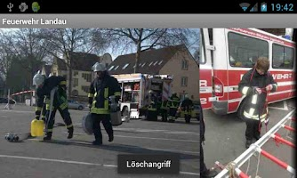Screenshot of Voluntary Fire Brigade Landau