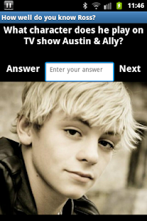 Ross Lynch Quiz - screenshot