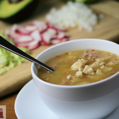 Comforting Green Pozole