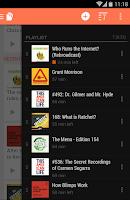 Screenshot of BeyondPod Podcast Manager
