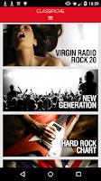 Screenshot of Virgin Radio Italia