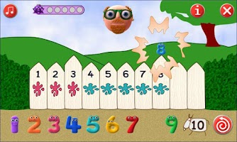 Screenshot of Addition facts up to 10