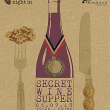 SOLD OUT! July Secret Wine Supper