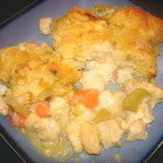 Rachael Ray's Buffalo Chicken Pot Pie