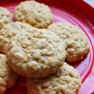 Maple and Brown Sugar Oatmeal Cookies
