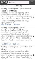 Screenshot of Adobe MAX yamsc 2011