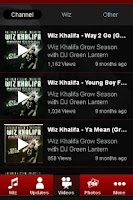 Screenshot of Wiz Khalifa Fan App
