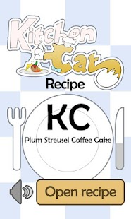 KC Plum Streusel Coffee Cake - screenshot