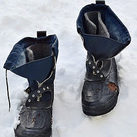 Snowy shoes by Andrew Piekut - Artistic Objects Clothing & Accessories