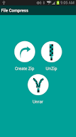 Screenshot of Zip, Unzip, UnRAR