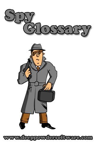 Spy Glossary